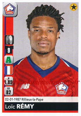 2018-19 - Panini Ligue 1 Stickers - N° 171 - Loïc REMY (Lille)