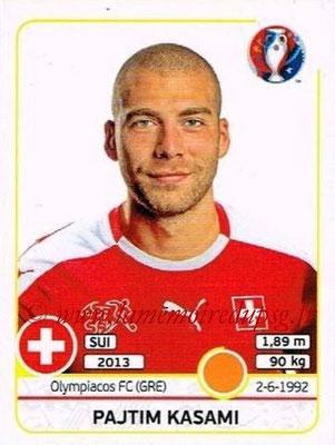 Panini Euro 2016 Stickers - N° 114 - Pajtim KASAMI (Suisse)