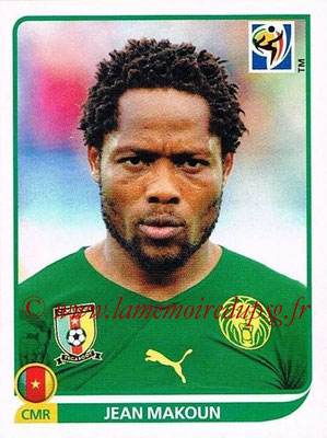 2010 - Panini FIFA World Cup South Africa Stickers - N° 402 - Jean MAKOUN (Cameroun)