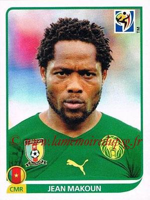 2010 - Panini FIFA World Cup South Africa Stickers - N° 402 - Jean MAKOUN (Cameroun)