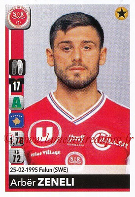 2018-19 - Panini Ligue 1 Stickers - N° T32 - Arbër ZENELI (Reims) (Transfert)