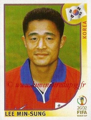 2002 - Panini FIFA World Cup Stickers - N° 245 - Lee MIN-SUNG (Corée)