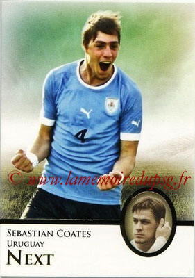 2013 - Futera World Football Unique - N° 091 - Sebastian COATES (Uruguay) (Next)