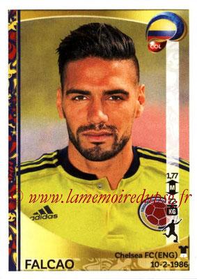 Panini Copa America Centenario USA 2016 Stickers - N° 061 - FALCAO (Colombie)