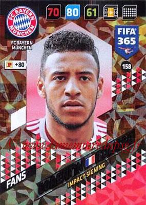 2017-18 - Panini FIFA 365 Cards - N° 158 - Corentin TOLISSO (FC Bayern Munich) (Impact Signing)