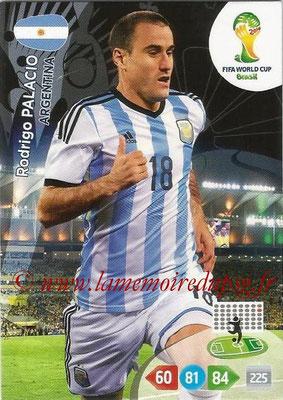 2014 - Panini FIFA World Cup Brazil Adrenalyn XL - N° 017 - Rodrigo PALACIO (Argentine)