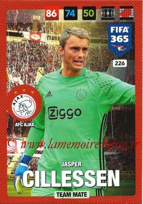 2016-17 - Panini Adrenalyn XL FIFA 365 - N° 226 - Jasper CILLESSEN (AFC Ajax)