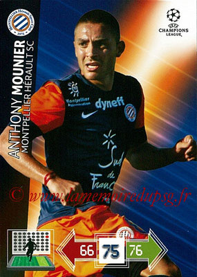 2012-13 - Adrenalyn XL champions League N° 170 - Anthony MOUNIER (Montpellier HSC)