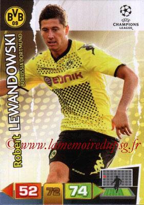 2011-12 - Panini Champions League Cards - N° 080 - Robert LEWANDOWSKI (Borussia Dortmund)