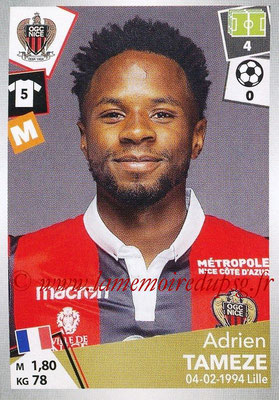 2017-18 - Panini Ligue 1 Stickers - N° 353 - Adrien TAMEZE (Nice)