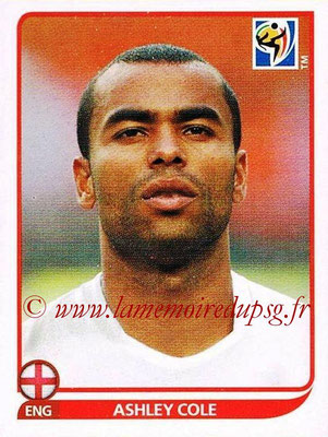 2010 - Panini FIFA World Cup South Africa Stickers - N° 188 - Ashley COLE (Angleterre)