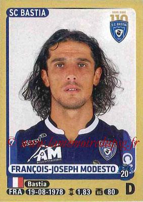 2015-16 - Panini Ligue 1 Stickers - N° 057 - François-Joseph MODESTO (SC Bastia)