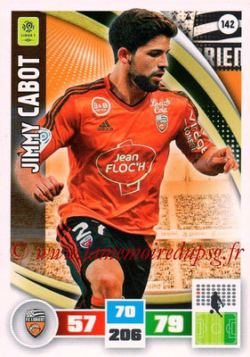 2016-17 - Panini Adrenalyn XL Ligue 1 - N° 142 - Jimmy CABOT (Lorient)