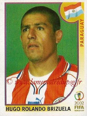 2002 - Panini FIFA World Cup Stickers - N° 149 - Hugo Rolando BRIZUELA (Paraguay)