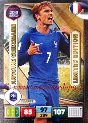 2018 - Panini Road to FIFA World Cup Russia Adrenalyn XL - N° LE-AG - Antoine GRIEZMANN (France) (Limited Edition)