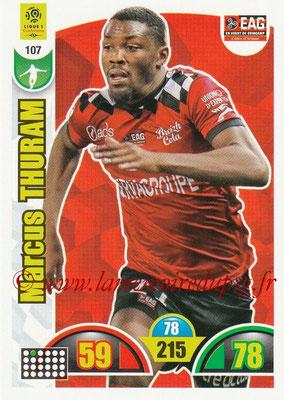 2018-19 - Panini Adrenalyn XL Ligue 1 - N° 107 - Marcus THURAM (Guingamp)