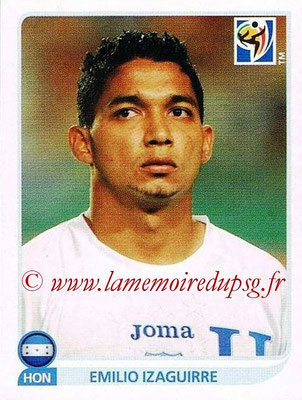 2010 - Panini FIFA World Cup South Africa Stickers - N° 609 - Emilio IZAGUIRRE (Honduras)