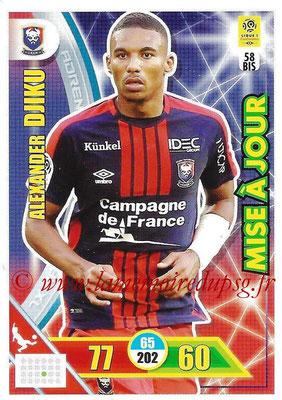 2017-18 - Panini Adrenalyn XL Ligue 1 - N° 058bis - Alexander DJIKU (Caen) (Mise à jour)