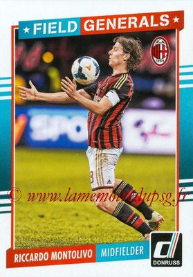 2015 - Panini Donruss Soccer - N° FG12 - Riccardo MONTOLIVO (Milan AC) (Field Generals)