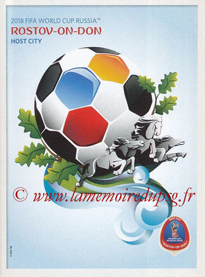 2018 - Panini FIFA World Cup Russia Stickers - N° 025 - Rostov-On-Don