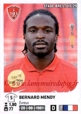 N° 084 - Bernard MENDY (2000-08, PSG > 2012-13, Brest)