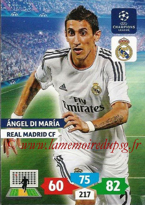 N° 241 - Angel DI MARIA (2013-14, Real Madrid, ESP > 2015-??, PSG)