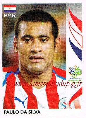 2006 - Panini FIFA World Cup Germany Stickers - N° 117 - Paulo DA SILVA (Paraguay)