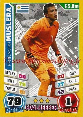 Topps Match Attax England 2014 - N° 225 - Fernando MUSLERA (Uruguay)