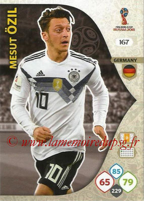 2018 - Panini FIFA World Cup Russia Adrenalyn XL - N° 167 - Mesut OZIL (Allemagne)