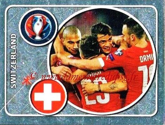 Panini Euro 2016 Stickers - N° 015 - Équipe de Suisse