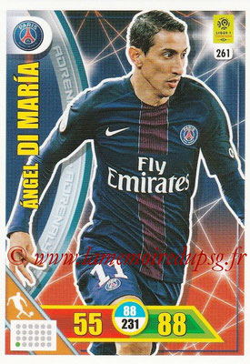 2017-18 - Panini Adrenalyn XL Ligue 1 - N° 261 - Angel DI MARIA (Paris Saint-Germain)