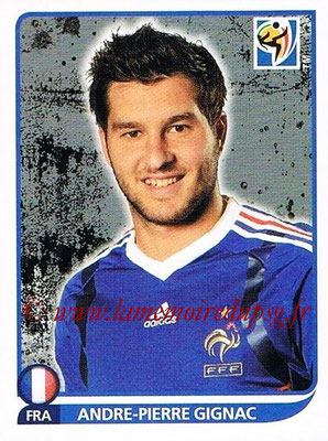 2010 - Panini FIFA World Cup South Africa Stickers - N° 105 - André Pierre-GIGNAC (France)