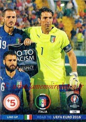 Panini Road to Euro 2016 Cards - N° 126 - Equipe Iatlie 3