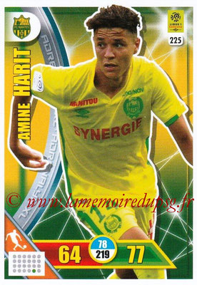 2017-18 - Panini Adrenalyn XL Ligue 1 - N° 225 - Amine HARIT (Nantes)