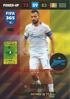 2016-17 - Panini Adrenalyn XL FIFA 365 - N° 386 - DANNY (FC Zenit) (Dynamo)