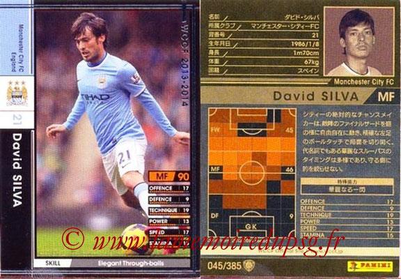 2013-14 - WCCF - N° 045 - David SILVA (Manchester City FC)