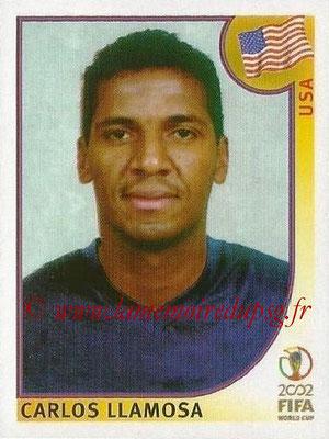 2002 - Panini FIFA World Cup Stickers - N° 282 - Carlos LLAMOSA (Etats-Unis)