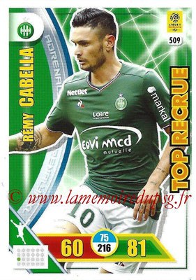 2017-18 - Panini Adrenalyn XL Ligue 1 - N° 509 - Remy CABELLA (Saint-Etienne) (Top Recrue)