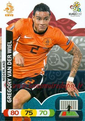 Panini Euro 2012 Cards Adrenalyn XL - N° 135 - Gregory VAN DER WIEL (Pays-Bas)