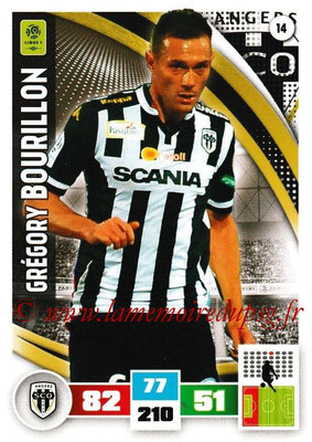 2016-17 - Panini Adrenalyn XL Ligue 1 - N° 014 - Grégory BOURILLON (Angers)