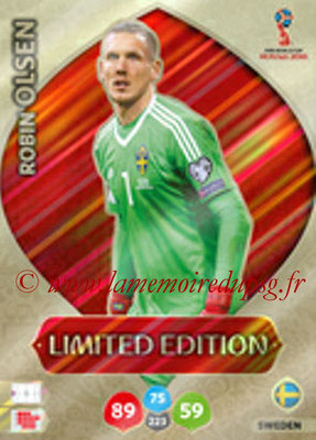 2018 - Panini FIFA World Cup Russia Adrenalyn XL - N° LE-RO - Robin OLSEN (Suede) (Limited Edition)
