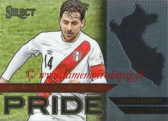 2015 - Panini Select Soccer - N° NP26 - Claudio PIZARRO (Pérou) (National Pride)