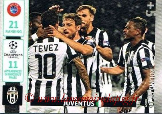 2014-15 - Adrenalyn XL champions League Update edition N° UE009 - Juventus FC (Round of 16)