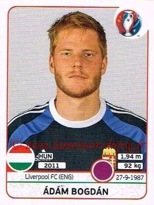 Panini Euro 2016 Stickers - N° 662 - Adam BOGDAN (Hongrie)