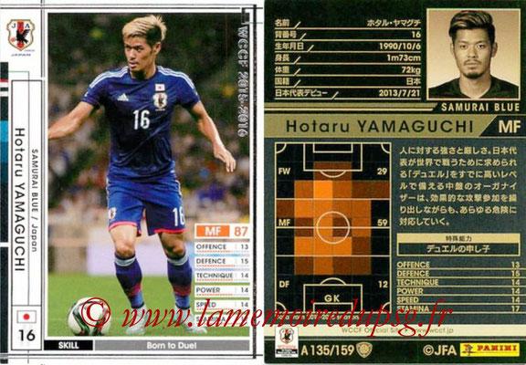 2015-16 - Panini WCCF - N° A135 - Hotaru YAMAGUCHI (Japon)