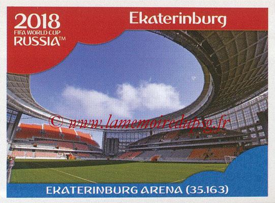 2018 - Panini FIFA World Cup Russia Stickers - N° 008 - Ekaterinburg Arena, Ekaterinburg (Stades et Villes)