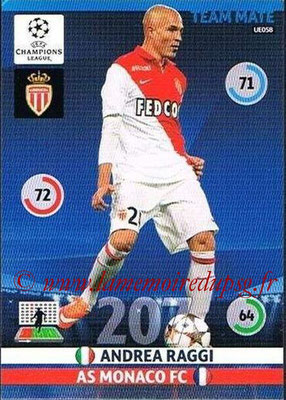2014-15 - Adrenalyn XL champions League Update edition N° UE058 - Andrea RAGGI (AS Monaco)