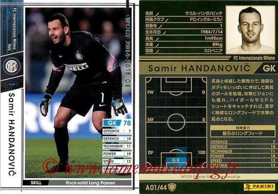 2013-14 - WCCF - N° A01 - Samir HANDANOVIC (FC Inter Milan)