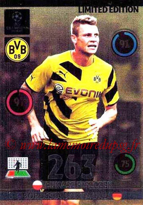 2014-15 - Adrenalyn XL champions League N° LE-LP - Lukasz PISZCZEK (Borussia Dortmund) (Limited Edition)