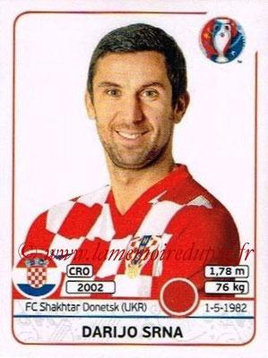 Panini Euro 2016 Stickers - N° 438 - Darijo SRNA (Croatie)